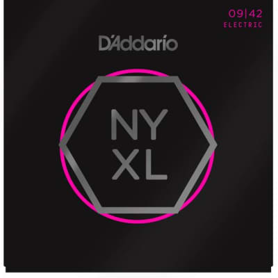 D'Addario NYXL0942 Nickel Wound Guitar Strings, Super Light, 09-42