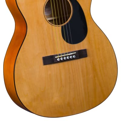 Accent CS-2 Natural Acoustic Folk Guitar with Gig Bag for sale