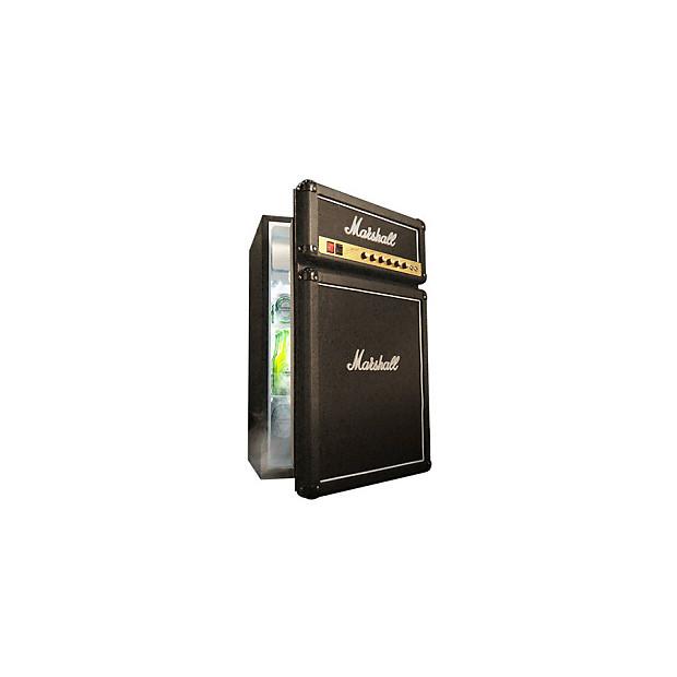 Marshall Fridge Real Mini Refrigerator That Looks Like An