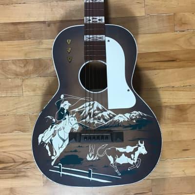 Del Oro Stencil Guitar