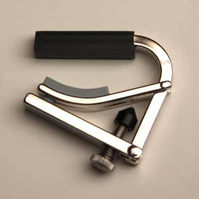 Shubb C5 Banjo Capo - Nickel for sale