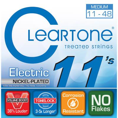 Cleartone .011-.048 Medium Electric Guitar Strings