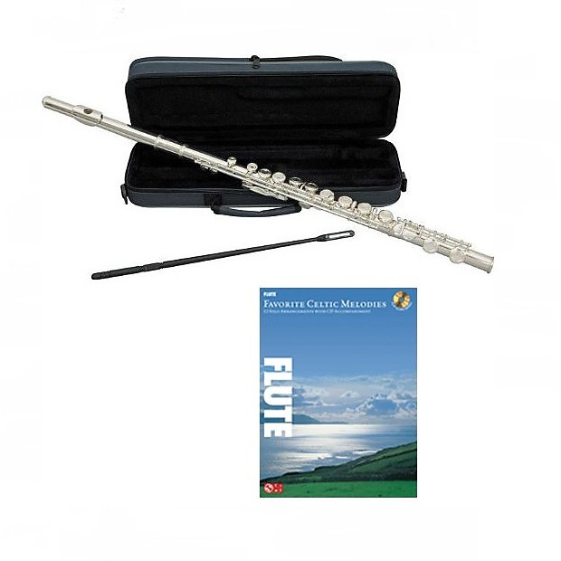 Flute w/Case & Accessories, + Celtic Melodies Book
