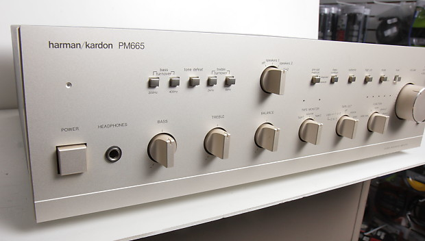 Harman Kardon Car Audio: Harman Kardon PM665 Vintage Stereo Integrated Amplifier