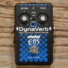 EBS EBS DynaVerb High Dynamics Stereo Reverb TBP Pedal