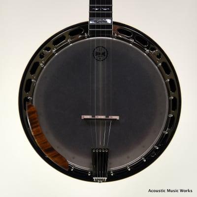 Bishline Harvest Resonator Banjo, Maple, Maple Arm Rest for sale