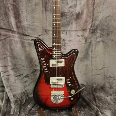 Goya Rangemaster 1967-1969  Red Burst with Original Hardshell Case! for sale