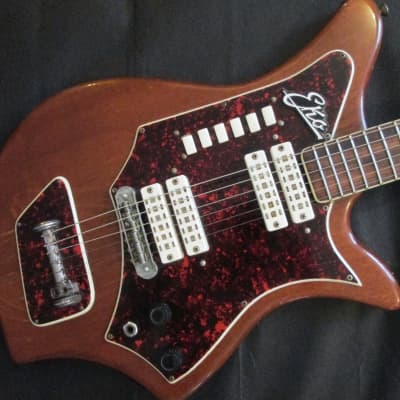 Eko 700/4V c.1962 mahogany for sale