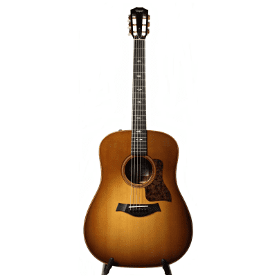 Taylor 710e Lutz Spruce/Rosewood Dreadnought Acoustic/Electric Guitar Western Sunburst 2016