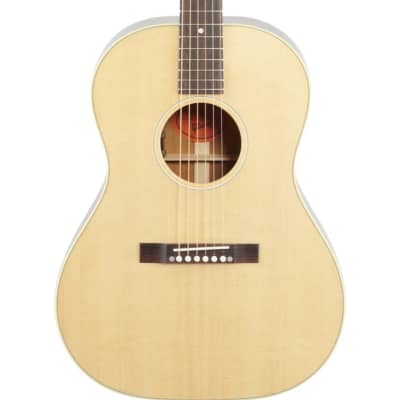 Gibson '50s LG-2 Original Acoustic-Electric Guitar (with Case), Antique Natural