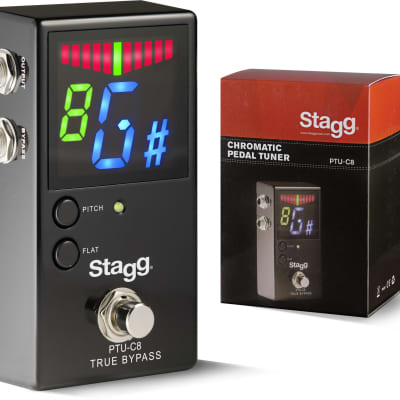 Stagg Auto-Chromatic Tuner Pedal PTU-C8 for sale