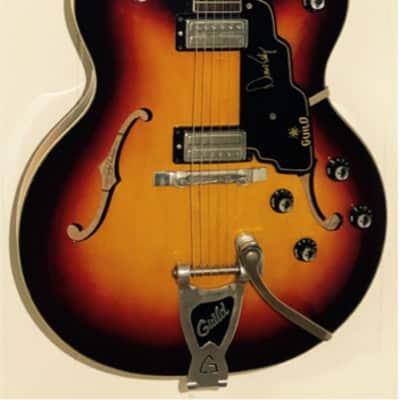 Guild DE-400 1964 Sunburst