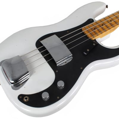 Fender Custom Shop Ltd Journeyman 58 Precision Bass, Opaque White Blonde for sale