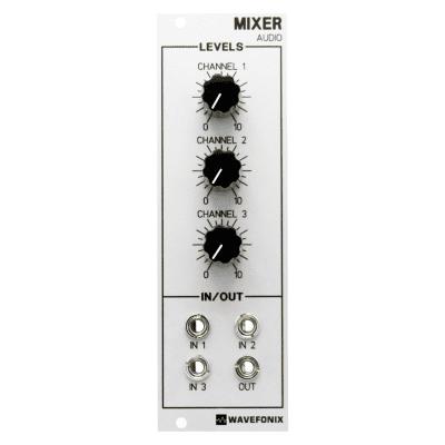 Wavefonix 3-Channel Audio Mixer