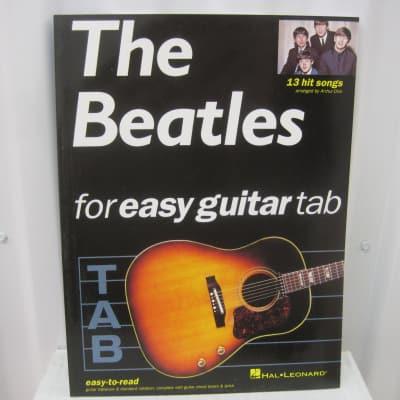 The Beatles For Easy Guitar Tab Sheet Music Song Book Songbook Guitar Tablature