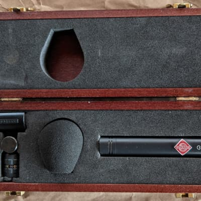 Neumann KM 184 mt Small Diaphragm Cardioid Condenser Microphone 2010s Matte Black