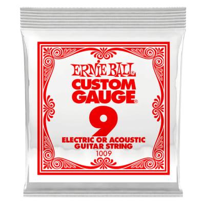 Ernie Ball .009 Single Plain Steel String