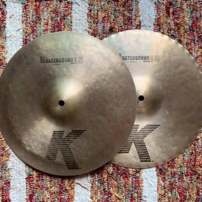 "Zildjian 13"" K Series Mastersound Hi-Hat Cymbals (Pair) Rare"