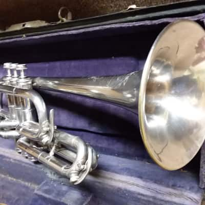 Holton USQMC Vintage 1916 Professional Chicago Revelation Cornet In Excellent Condition