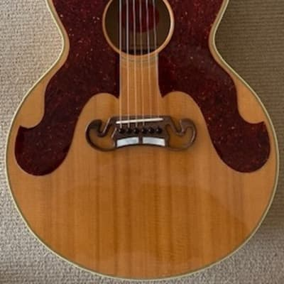 Gibson J-180 Dwight Yoakam Signature Limited Edition #84 0f 100 with Original Hard Shell Case for sale