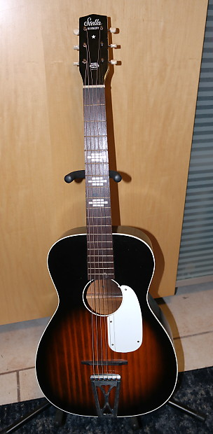 stella harmony h929 parlor guitar 1967 usa reverb. Black Bedroom Furniture Sets. Home Design Ideas