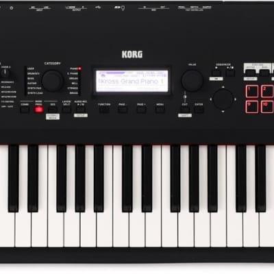 Korg Kross 2-88-MB 88-key Synthesizer Workstation - Super Matte Black