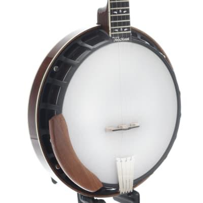 Nechville Mahogany Phantom Banjo & Case, Diamond Wing Inlay for sale