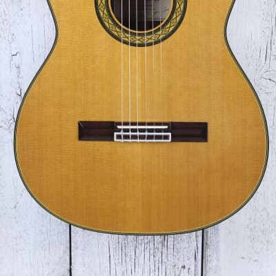 Takamine TH5C Hirade Concert Classic Acoustic Electric Guitar w Hardshell Case for sale