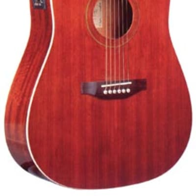 Monterey MW-100CE Dreadnought Acoustic Electric Guitar - Mahogany for sale