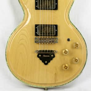 Ibanez 2671 Randy Scruggs Professional Single Cutaway HH with Vine Fretboard Inlays Ash with Gold Hardware