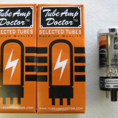 Tube Amp Doctor TAD 6L6WGC-STR matched pair