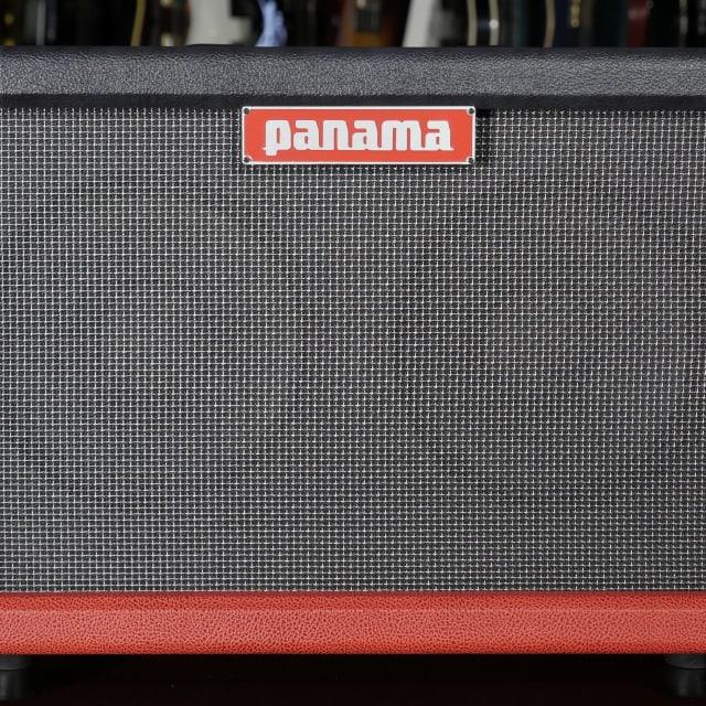 Panama Pro Series Oversized 2x10 Guitar Cab Scarlet/Graphite w/ Big Ben 10 British 10'' image
