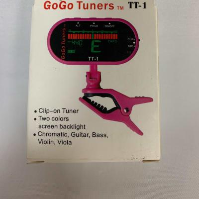 GoGo TT-1 Clip-On Tuner Pink