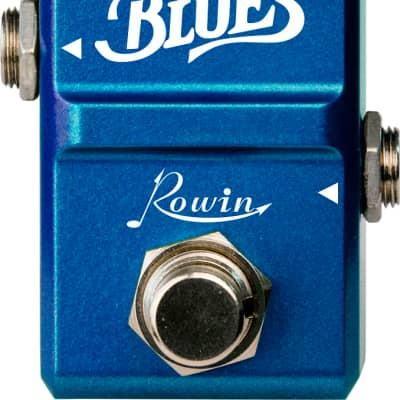 Rowin LN-321 Blues NANO Series Sweet n Wild Blues-breaker Marshall tone True Bypass Pedal Ships Free