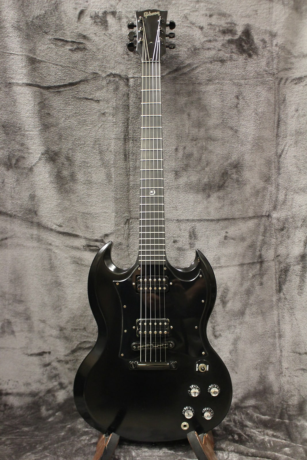 Gibson SG Gothic 2001 Satin Ebony with Original Gig Bag
