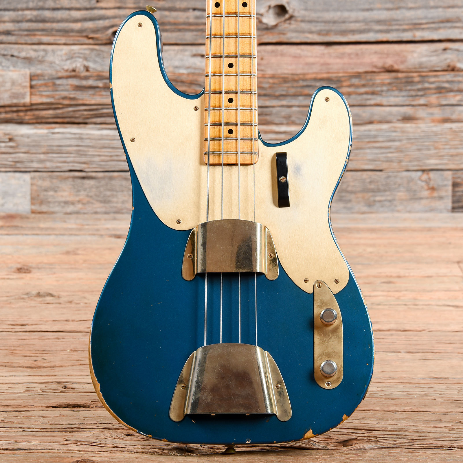 98374b5a3f0 Fender Custom Shop 1951 Precision Bass Lake Placid Blue 2013 ...