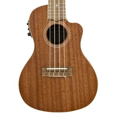 Lanikai MA-CEC Mahogany Concert with Kula Preamp Acoustic Electric Ukulele for sale