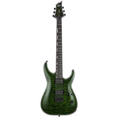 ESP LTD H-10001 See Thru Green Electric Guitar for sale