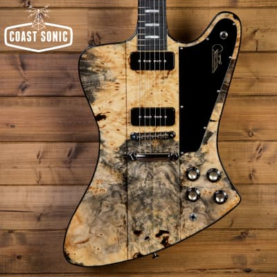 Kauer Guitars Banshee #375 Buckeye Burl for sale