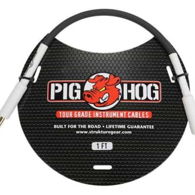"""Pig Hog 1ft 1/4"""" - 1/4"""" 8mm Inst Cable"""