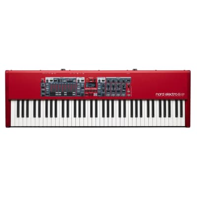 Nord Electro 6HP Stage Piano, 73-Note Hammer Action Portable Keybed