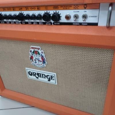 Orange  Rockerverb RK 50 C MK II  2x12 Made in UK Orange for sale