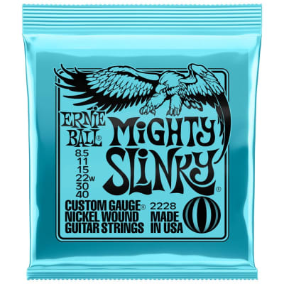 Ernie Ball Mighty Slinky 8.5-40 Electric Guitar Strings