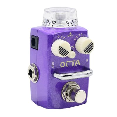 Hotone Octave Pedal Guitar Effect Digital Octave Stompbox for sale