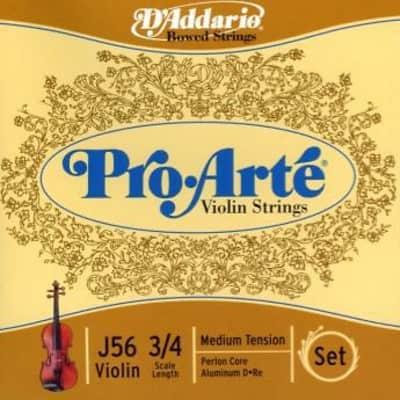 Pro-Arte 3/4  Violin String Set Medium