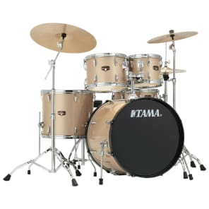 "Tama IP52NCCHM Imperialstar 10/12/16/22/5x14"" 5pc Drum Set with Meinl HCS Cymbals, Hardware"