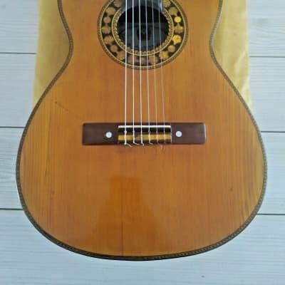 Antigua Casa Nunez historical guitar 1920 ca French polish for sale