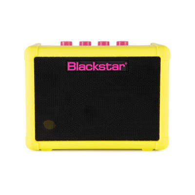 Blackstar Fly3 Neon Yellow  3-Watt Mini Amp