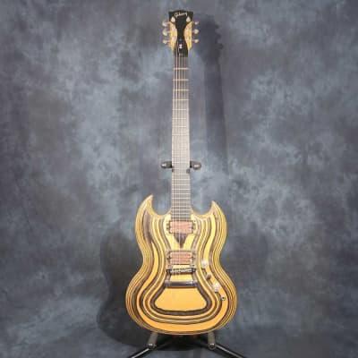 Gibson SG Zoot 2009 Black & Orange Electric Guitar + Original Gibson Soft Case for sale