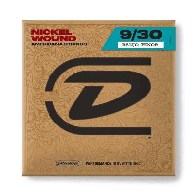 Dunlop DJN0930 Nickel Wound Loop End Banjo Strings (9-30)